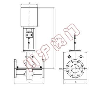 电动管夹阀 ■ 产品概述 电动管夹阀是一种具有独特结构形式的新型