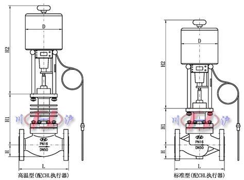 自力式电控温度调节阀|电控温度控制阀-上海川沪调节